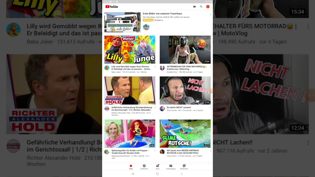 Youtube Machen