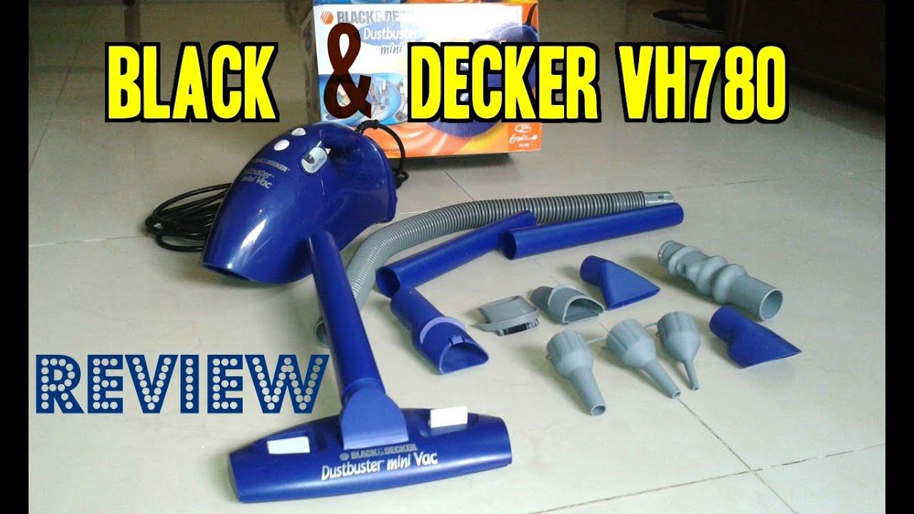 Black Amp Decker Vh780 780 Watt Multi Use Hand Held Vacuum