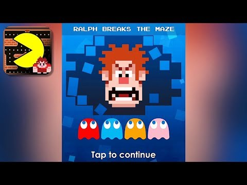 PAC-MAN: Ralph Breaks The Maze - Gameplay Trailer (iOS, Android)