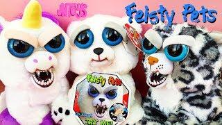 САМЫЕ ЗЛЫЕ ИГРУШКИ ОЖИЛИ! Feisty Pets моя коллекция