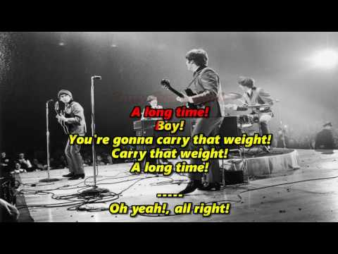 Golden Slumbers/Carry That Weight (Original) - The Beatles (High Quality)