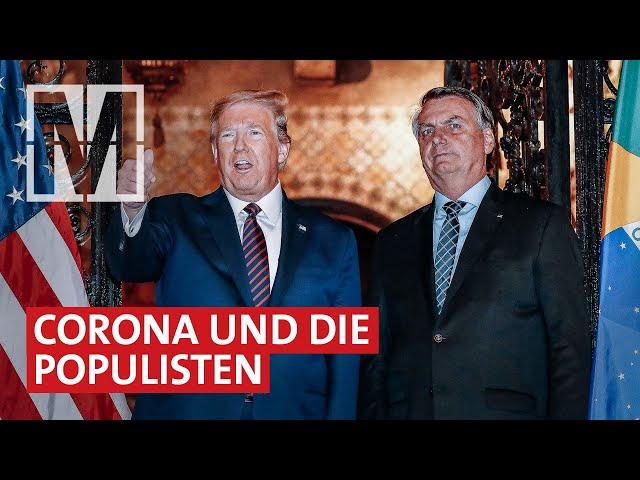 Trump, Bolsonaro & Co.: Wie Populismus und Armut Corona verschlimmern - MONITOR