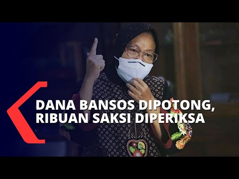Risma Marah Saat Temukan Bansos Tunai Di Tangerang Dipotong, 4.000 Saksi Diperiksa!