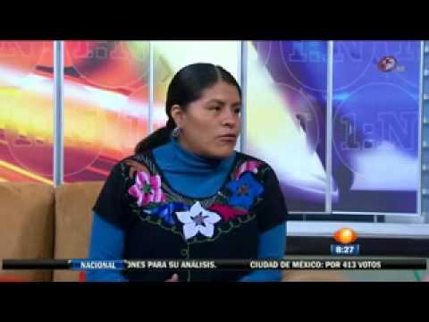 Eufrosina Cruz, la voz de los indígenas (Noticiero:Primero Noticias).flv streaming vf