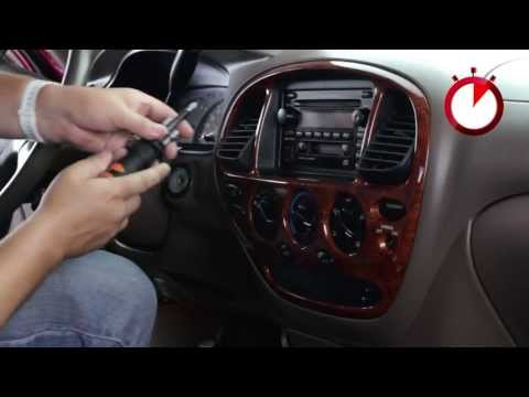 Basic Installation Of An Aftermarket Stereo Into A Toyota Vehicle
