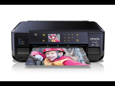 Epson XP-610 - HOW TO CLEAN PRINTHEAD-⬇️Link In Description⬇️