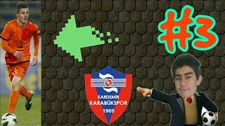 Müthiş zafer ve efsane transfer OSM Karabükspor Kariyeri #3