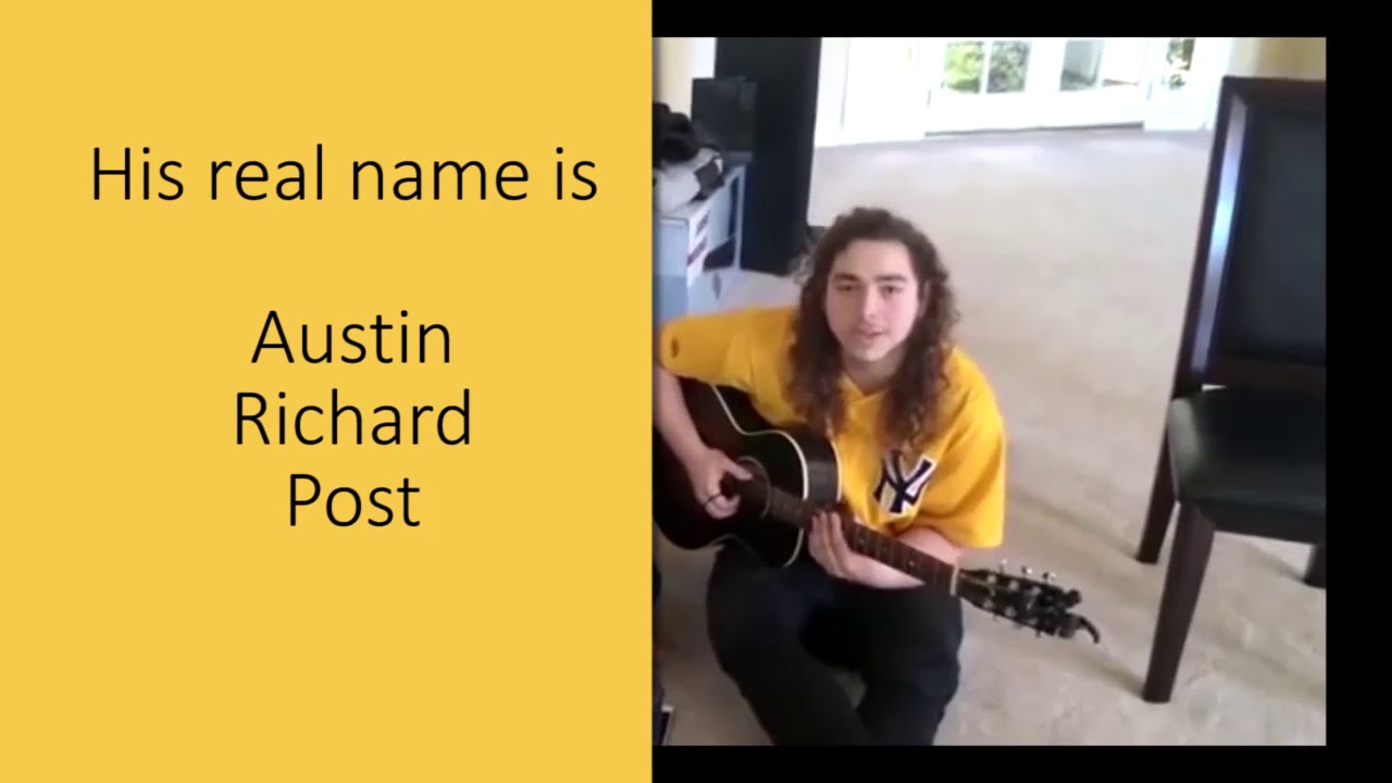 post malone real name