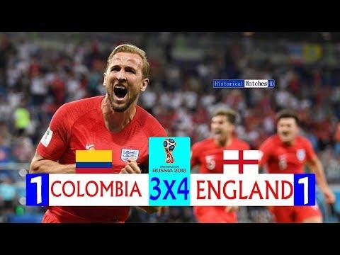 🔥 Англия - Колумбия 1-1 (4-3) - Обзор Матча 1/8 Финала Чемпионата Мира 03/07/2018 HD 🔥