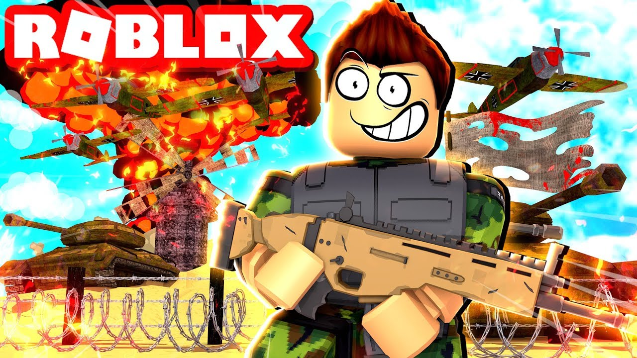 ROBLOX TWO PLAYER MILITARY TYCOON!