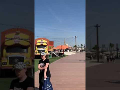 Лучшие пляжи Дубая. Kite beach Dubai Jumeirah 2019.