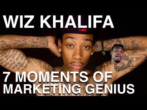 Wiz Khalifa: 7 Moments of Marketing Genius