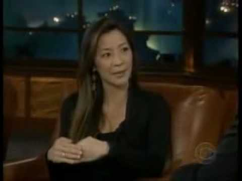 Michelle Yeoh on Late Late  with Craig Furgueson Part 1