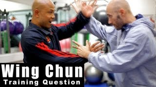Wing Chun training - wing chun why is your chi sao different to others? Q20