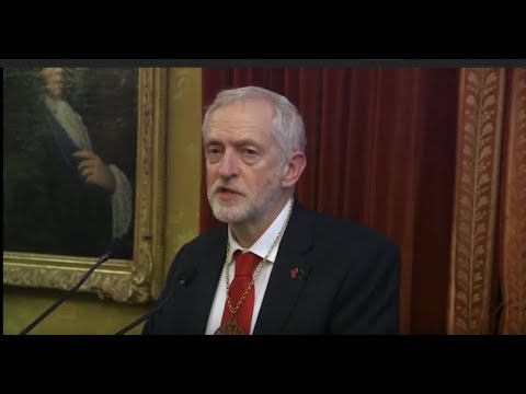 Jeremy Corbyn - Sean MacBride Peace Prize  2017