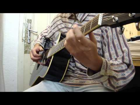 Classical songs medley (low guitar tuning)