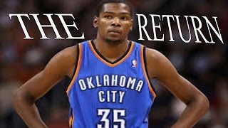 """Kevin Durant 2015-2016 Hype """"the Return"""" Hd"""
