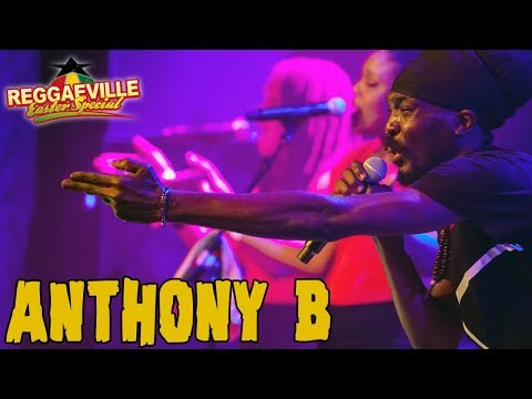 Anthony B & House of Riddim - Real Warriors in Amsterdam @ Reggaeville Easter Special 2018