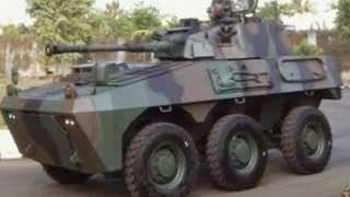 Tank Varian Panser Canon 90 mm PT Pindad 2014