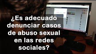 Denuncias en las redes sociales