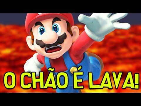 O CHÃO É LAVA E A DERROTA É CERTA – Super Mario Maker (SUPER ULTRA EXPERT)