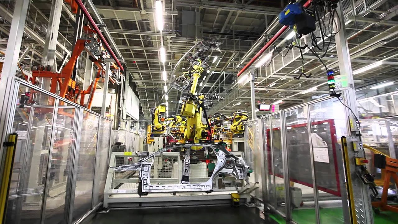SEAT factory in Barcelona - YouTube