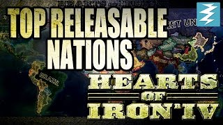 Top Releasable Countries in Hearts of Iron 4 HOI4
