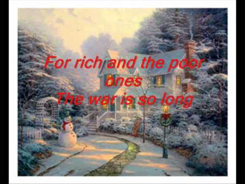 Celine Dion - So This is Christmas (lyrics) - YouTube