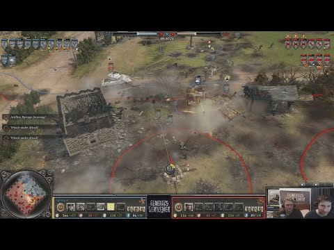 [Coh2] Epic Game: Tightrope(Wehrmacht) vs Wuff(Soviets)