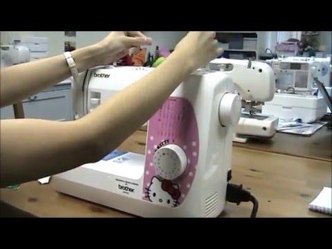[brother] 機械式縫紉機 - 短片教學4 換針及雙針操作