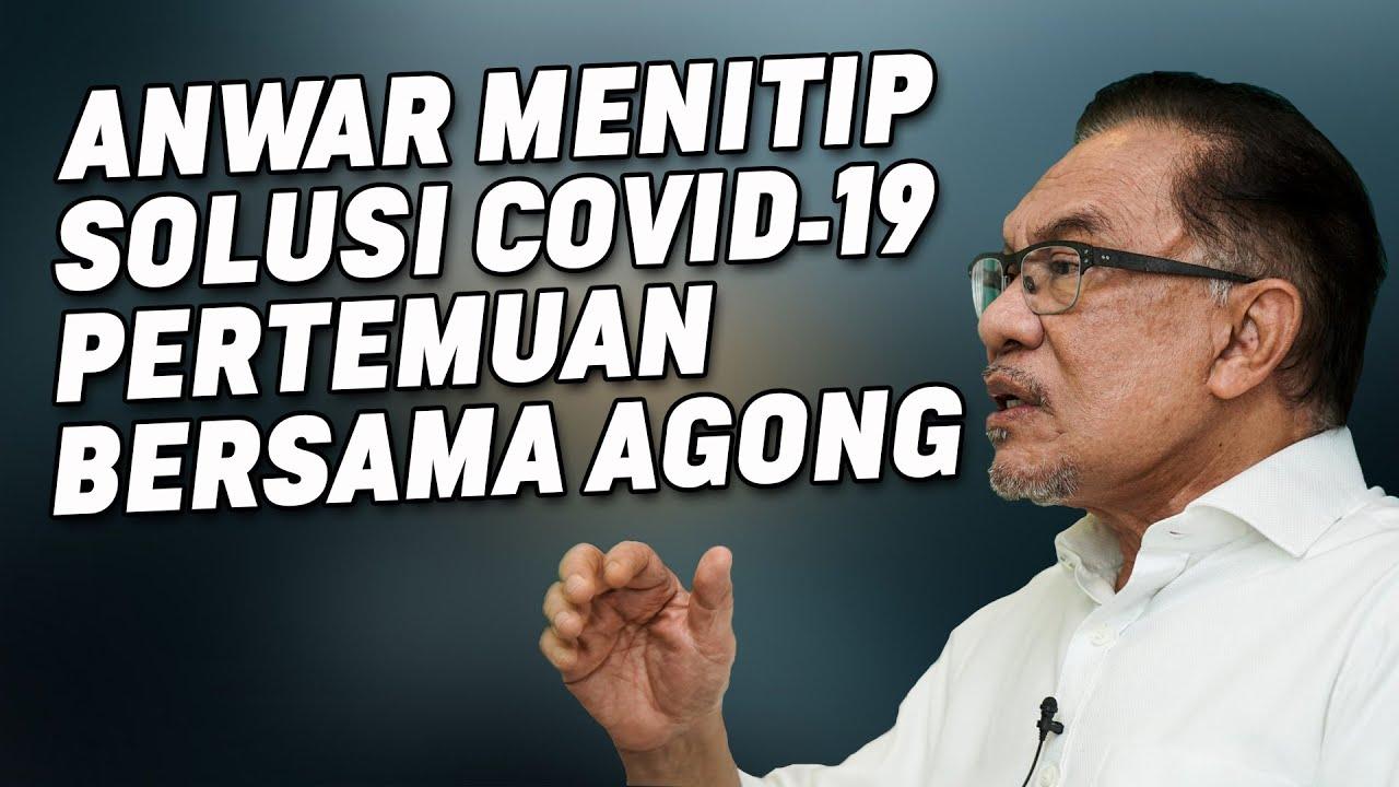 Anwar Menitip Solusi Covid-19 Dalam Pertemuan Agong