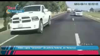 """Video capta """"levantón"""" de policía federal, en Veracruz thumbnail"""