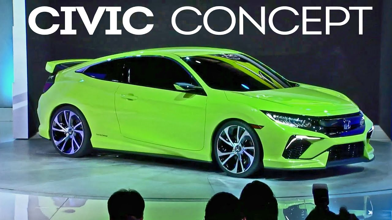 2016 Honda Civic Concept World Premiere
