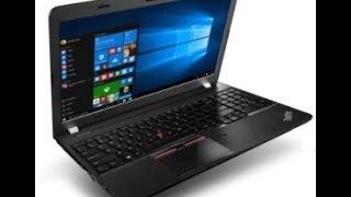 lenovo thinkpad E560 unboxing & adding memory/HHD