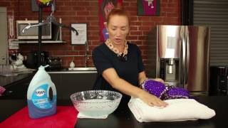 How to Hand Wash Your Ballroom Dress with Lena Kosovich