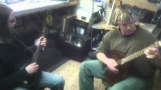 Bryce Possum Head Octave Mandolin And A style mandolin