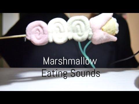 マシュマロ咀嚼音 ~Marshmallow Eating Sounds~【音フェチ*ASMR】