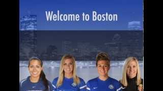 Welcome to Boston - Suzane, Morgan, Kassey and Amy