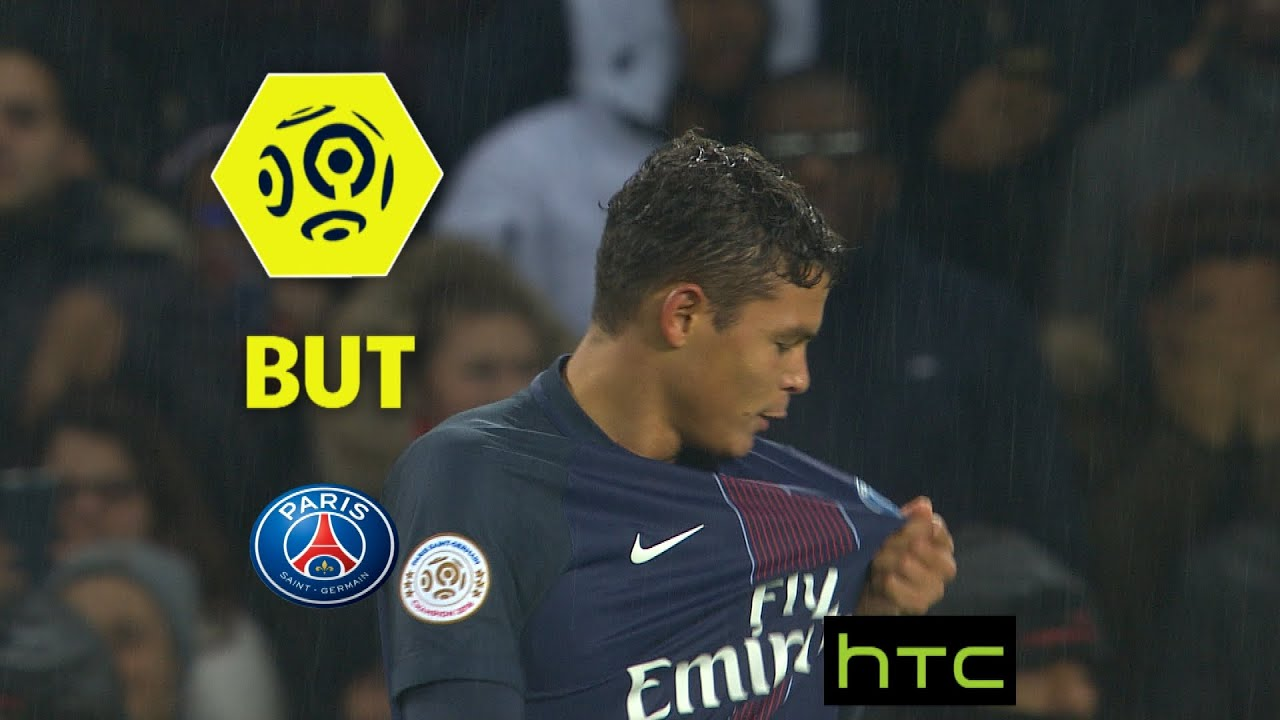 But Thiago SILVA 50 Paris Saint Germain FC Lorient 5 0
