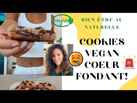 cookies-vegan-cœur-coulant-au-chocolat!