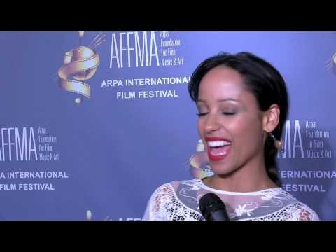 2014 Arpa Film Festival Red Carpet with actress Marilinda Rivera