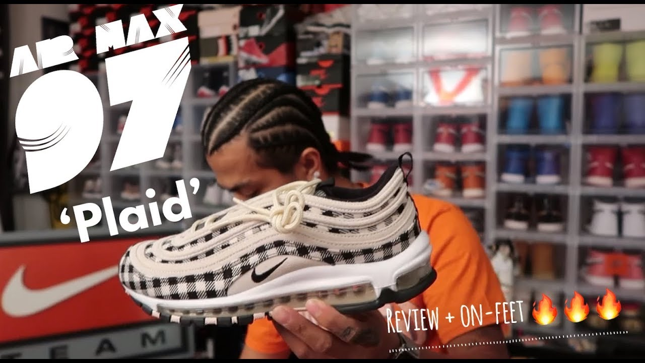 nike exclusive air max 97 plaid review