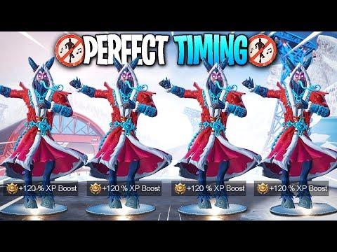 Fortnite - Perfect Timing Dance Compilation! #48 - (Season 7)