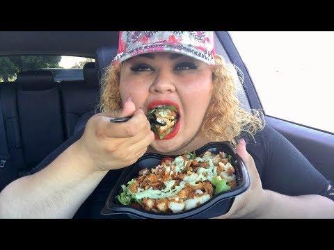 Huge Salad Mukbang (chick-fil-A)