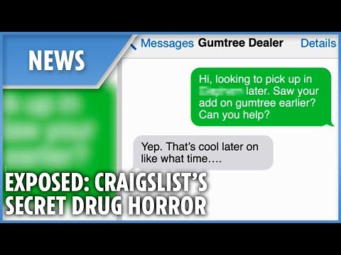 Exposed: The shocking secret drug deals on Gumtree and Craigslist