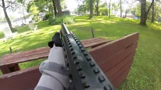 backyard airsoft war 11 cyma ak47 shotgun