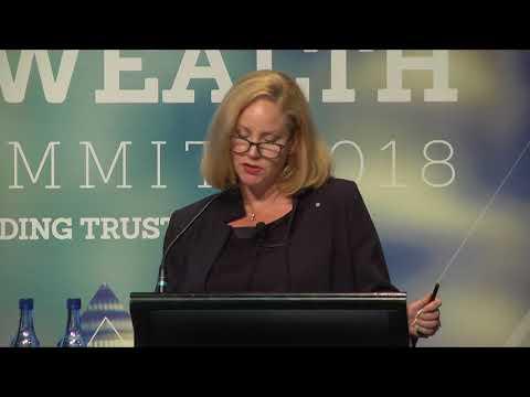 AUSTRAC CEO Nicole Rose speaks at the AFR Summit 2018