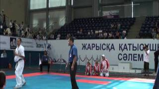 中島清貴(極真坂本) VS Bescheremnykh Andrey (Altai Region Team) 上...
