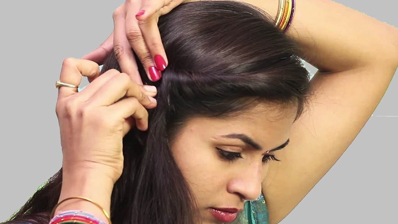 best self hair style for thin hair || easy hairstyle step by step