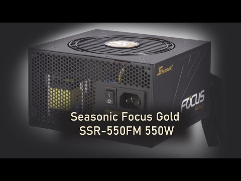 Seasonic Focus Gold SSR-550FM 550W